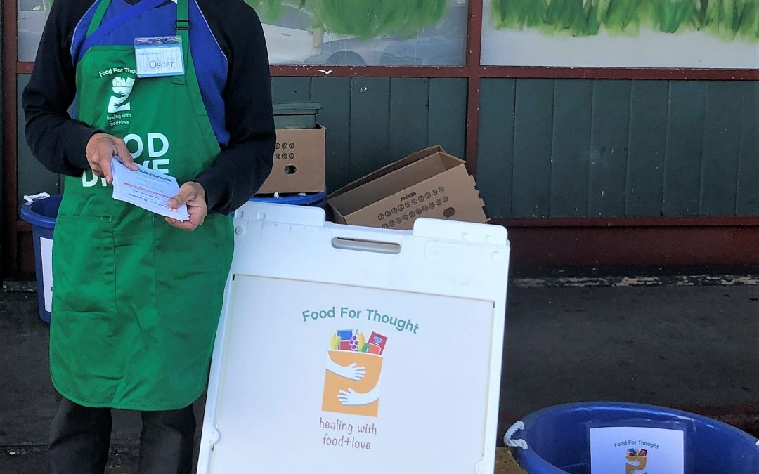 Food For Thought Drive-Thru Food Drive
