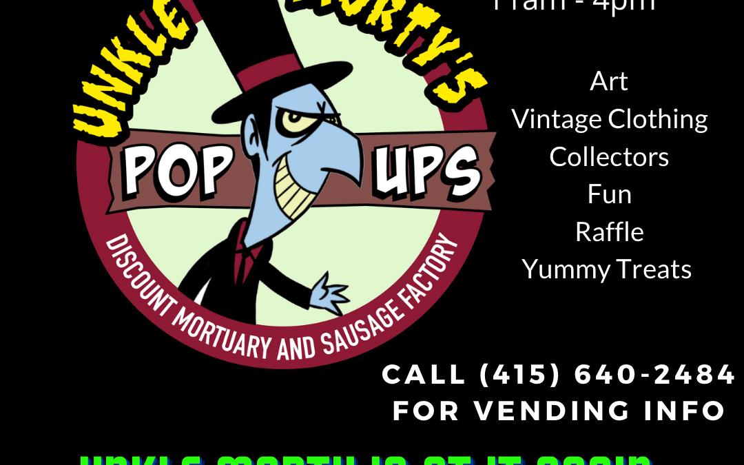 Unkle Morty's Pop Up Market